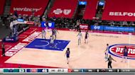 Killian Hayes with a buzzer beater vs the Charlotte Hornets