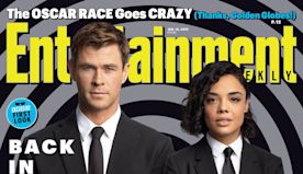 Behind the scenes of EW's Men in Black: International cover story