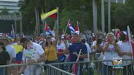 Hundreds Attend Rally For Freedom At Bayfront Park