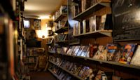 'Connecting to nostalgia' in quarantine, Iowa man transforms basement into replica movie rental store