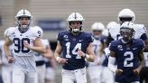 Sean Clifford practices but James Franklin encourages QB competition for backups