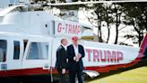Trump's favourite rides, from gold motorbike to private planes