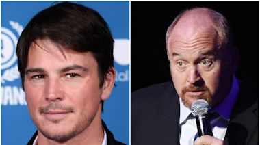 Josh Hartnett says Louis CK has been 'pretty shameless' in making comeback after sexual misconduct scandal