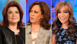 Chaos at The View as hosts exit mid-episode after positive COVID tests with Kamala Harris on set