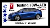 Tesla Model Y Pure Vision Safety Features Put Through The Paces