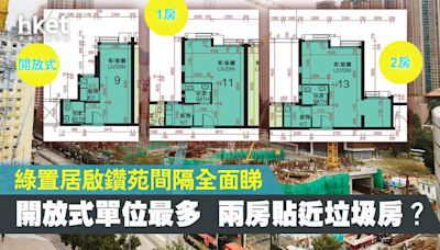 【綠置居2021】啟鑽苑戶型+面積+平面圖全面睇 兩房單位少揀樓避開近垃圾房 - 香港經濟日報 - 地產站 - 地產新聞 - 其他地產新聞