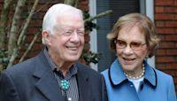 President Jimmy Carter celebrates 75th wedding anniversary