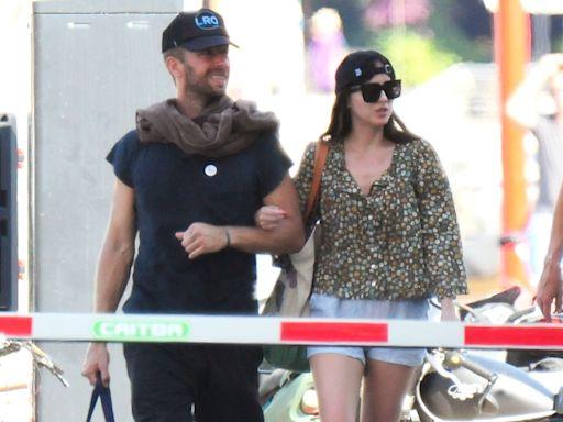 Dakota Johnson and Chris Martin Enjoy a Boat Ride During Romantic Spain Getaway