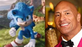 Dwayne Johnson's Mind Was Just Blown By A Cartoon Hedgehog