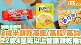 【消委會報告】8成半餅乾高糖/高脂/高鈉! 22款4星或以上健康餅乾推介   U Food 香港餐廳及飲食資訊優惠網站