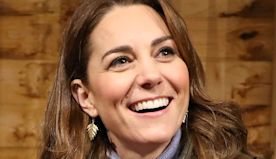 Kate Middleton Looked Chic During Her Surprise Farm Visit