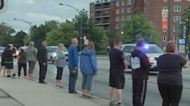 Niles officer killed in motorcycle crash honored with procession