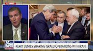 John Kerry denies sharing Israeli operations with Iran