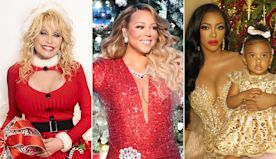 All Hail the Christmas Queens! Mariah Carey, Dolly Parton, Porsha Williams & More Christmas-Obsessed Stars