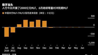 中國央行流動性管理穩字當頭 等量續作MLF並維持百億逆回購操作