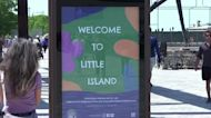 'Little Island' opens in NYC