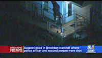 Police Officer Shot 4 Times In Brockton Expected To Survive; Suspect Dead After Standoff