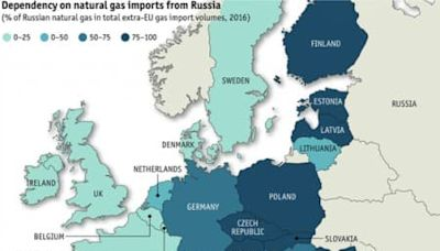 Russia Tightens Its Grip On Europe's Natural Gas Markets