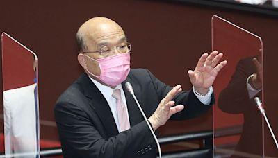 蘇貞昌說蔡英文「用盡了命在催疫苗」 網神回一句酸爆