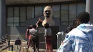 Vandalism of Floyd statues ahead of Chauvin sentencing