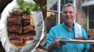 Bill Ritter grills up some delicious steaks with a savory Asian marinade BBQ