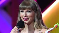 Taylor Swift Shouts Out Boyfriend Joe Alwyn During BRITs Global Icon Award Acceptance Speech