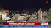 Tornado damage spotted in Anadarko as cleanup begins from Sunday storms