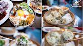 宜蘭羅東隱藏版美食~黃金半熟蛋加蚵仔的豪華邪惡滷肉飯,巨無霸燒賣,整隻蝦霸氣外露!