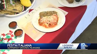 Food, drinks & music: A preview of Festa Italiana