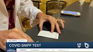 UCSD's COVID-19 'scratch-and-sniff test' shows promise