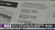 Court To Hold Hearing Over Provisional Ballots