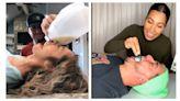 抖音麥片挑戰「拿嘴當碗」 湯匙挖奶釀意外!網轟:太噁