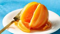End Your Meal Elegantly With Candied Oranges