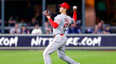 MLB/大谷翔平投完7局跑去守外野 連對手教練都嘖嘖稱奇