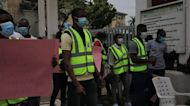Frontline health workers in Nigeria protest non-payment of allowance