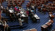 Senate Democrats lose vote to advance infrastructure bill