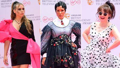 Bafta TV Awards 2021 red carpet in pictures