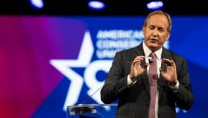 Trump backs embattled incumbent Ken Paxton over George P. Bush in Texas AG race