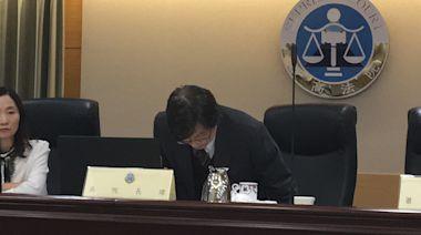 法官捲入翁茂鍾餐宴案 最高法院院長吳燦哽咽鞠躬道歉!
