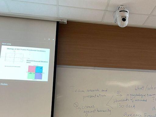 【個人私隱】16個課室增設鏡頭部分面向學生 浸大先安裝後諮詢:提升網課成效 - 香港經濟日報 - TOPick - 新聞 - 社會