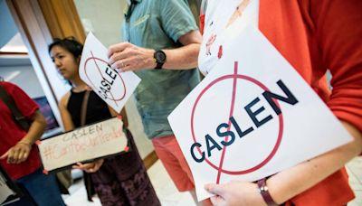 Many celebrate Caslen's resignation as USC's president on social media