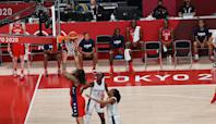 U.S. women's hoops survive early challenge, defeat Nigeria 81-72