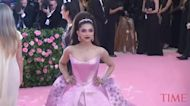 It's Impossible Not to Smile at Deepika Padukone's Voluminous Pink 2019 Met Gala Gown