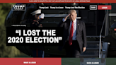 'I lost the election': Trump mocked with fake 2024 campaign website