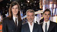Proud Dad! Pierce Brosnan Cheers on His Sons Ahead of Their Golden Globe Ambassador Debut