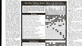 The First New York Times Book Review Best-Seller List