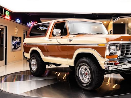 This 1979 Ford Bronco Ranger has big presence and a big price tag