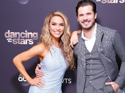Chrishell Stause and Gleb Savchenko Reunite at DWTS Finale: 'Happy to Have My Partner Back'
