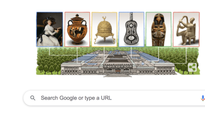 Google's Doodle Today Celebrates the Metropolitan Museum of Art — Can You Name All 18 Works of Art Featured?