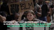 8-year-old stages BLM protest in video game